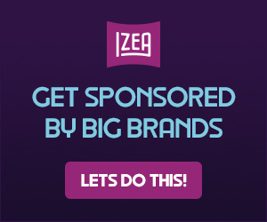 Get Sponsored by Big Brands